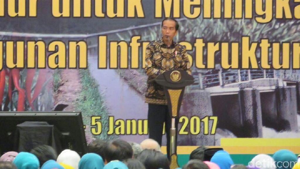 Buka Rakornas Pertanian, Jokowi: Saya Bahagia Sekali dengan Mentan
