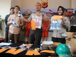 Polres Bogor Bekuk Perampok Truk Muatan Pestisida Senilai Rp 3,8 M