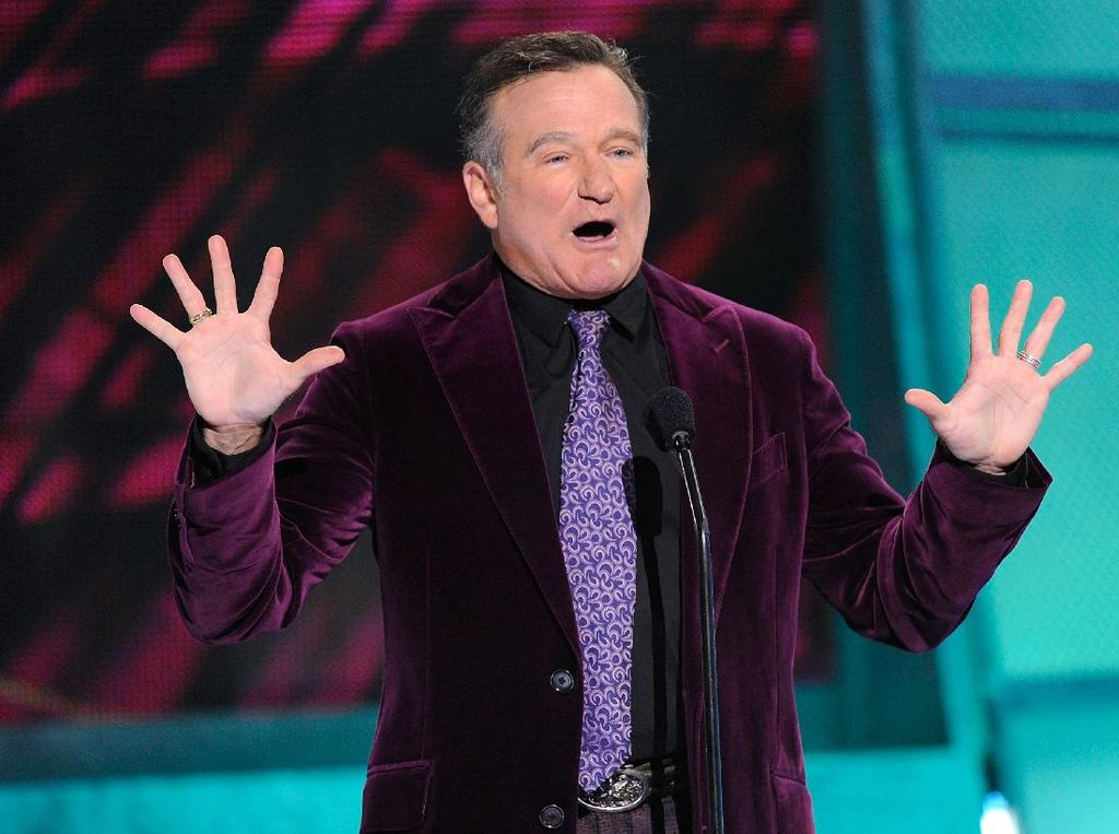 Barang-barang Robin Williams Dilelang untuk Amal