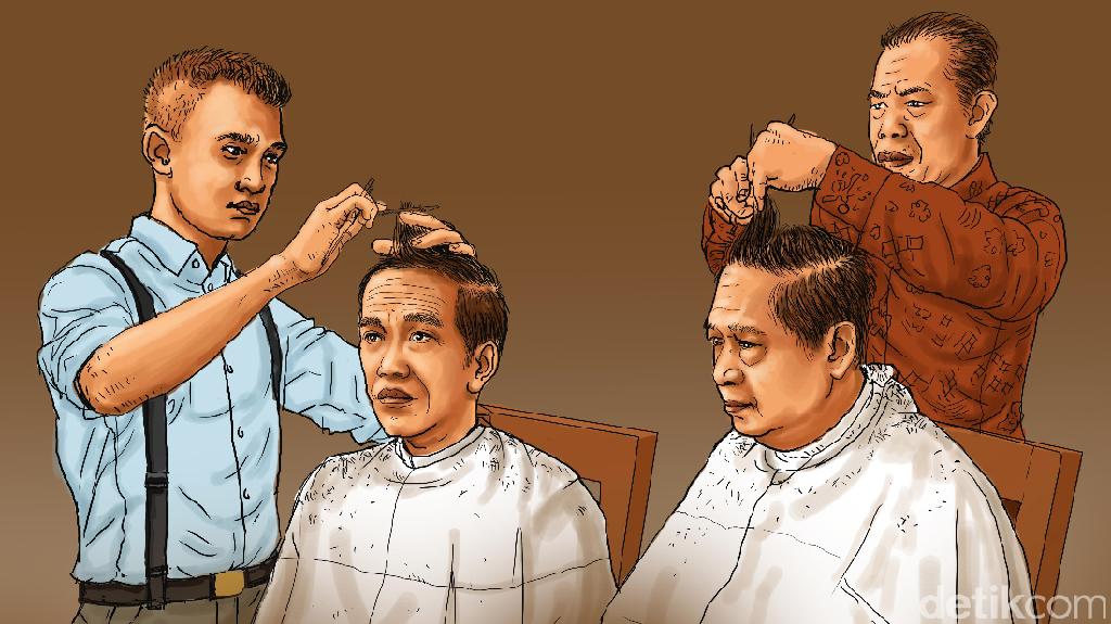 Kisah Para Tukang Cukur Langganan Presiden RI