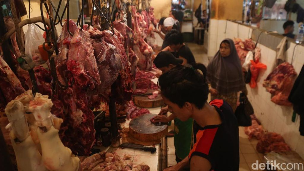 RI Impor Daging Sapi dan Kerbau, Ini Realisasi Hingga 20 Januari