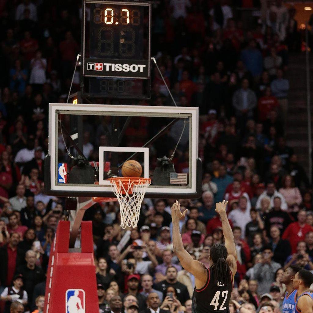 Free Throw di Detik Terakhir Menangkan Rockets atas Thunder
