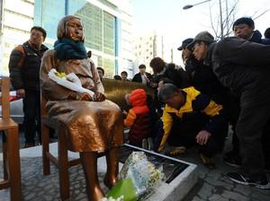 Jepang Marah Soal Patung Wanita Penghibur, Ini Kata Korsel