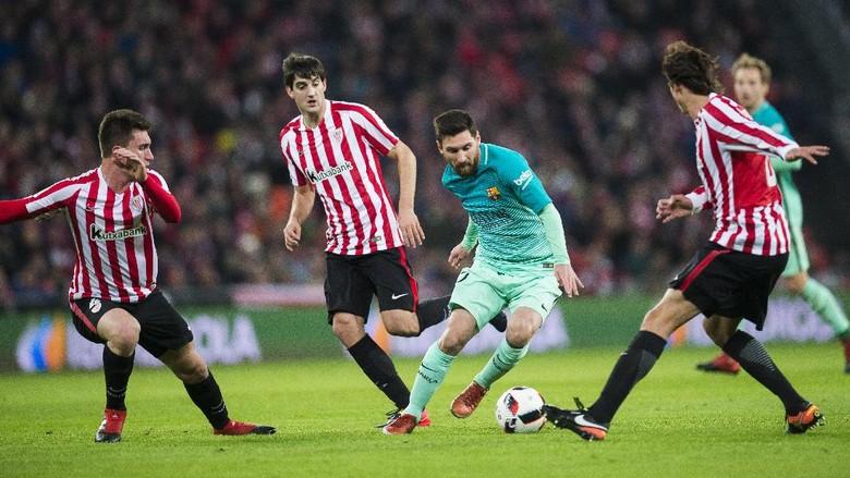 Barcelona Kewalahan Ladeni Pressing Bilbao