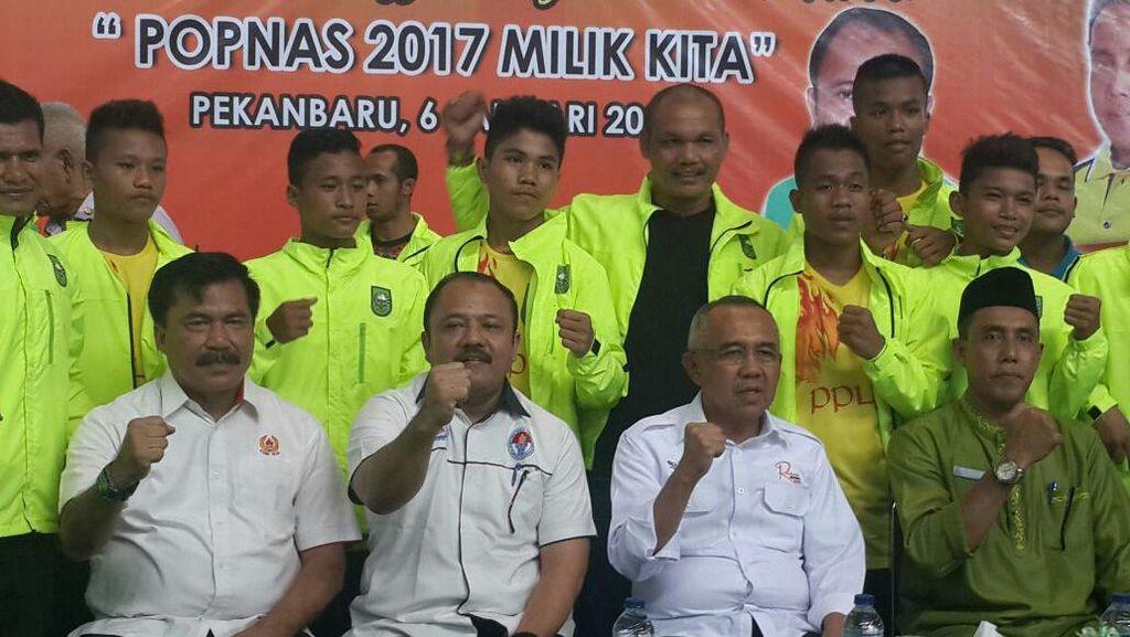 Cek Persiapan POPNAS, Gubernur Riau Temui Atlet Pelajar dan Mahasiswa