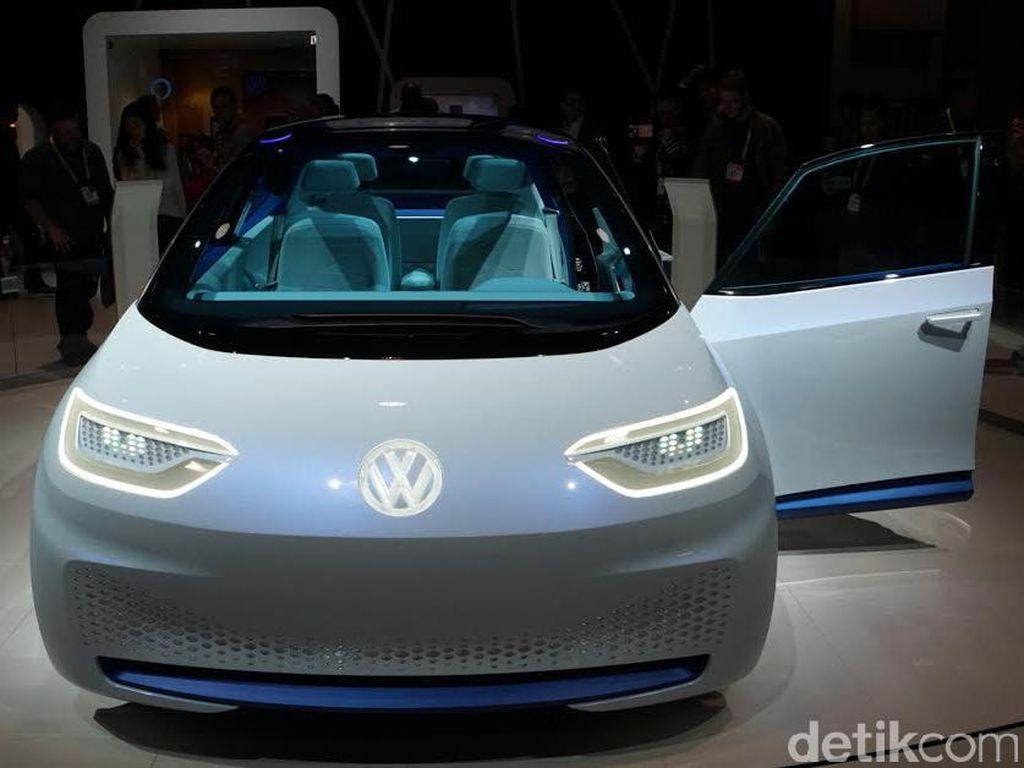 VW Takkan Ubah Tampang Hatchback Listriknya