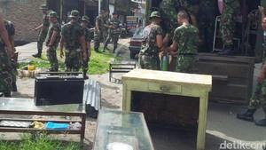 Kodam I/Bukit Barisan Tertibkan Rumah Dinas TNI di Medan