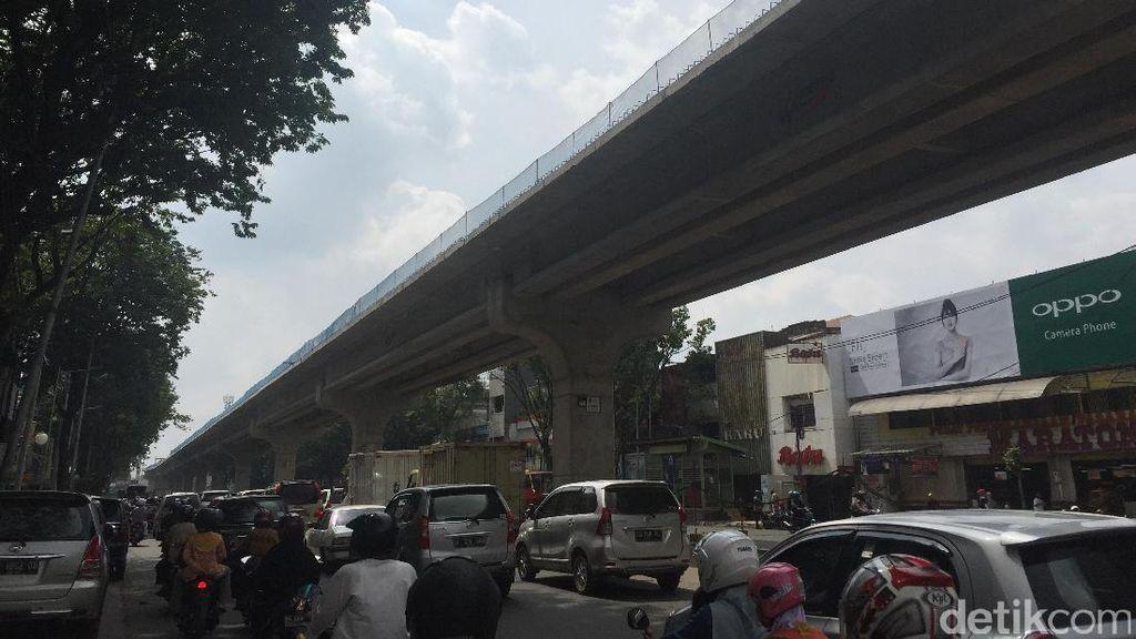 Mendahului Jakarta, LRT Palembang Kini Sudah Berbentuk