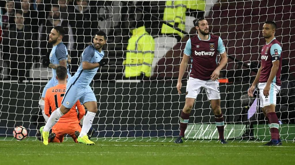 City Gilas West Ham 5-0