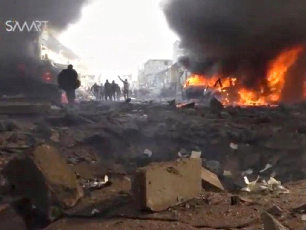 48 Orang Tewas Akibat Ledakan Truk Tangki di Suriah