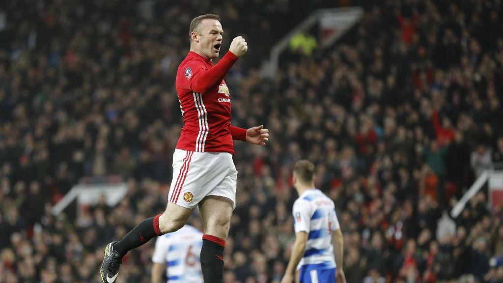 Usai Bikin Rekor Gol, Rooney Bidik Trofi Piala Liga