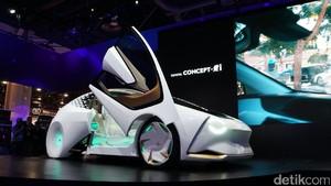 Mobil Futuristik Ikut Unjuk Gigi di Kota Judi