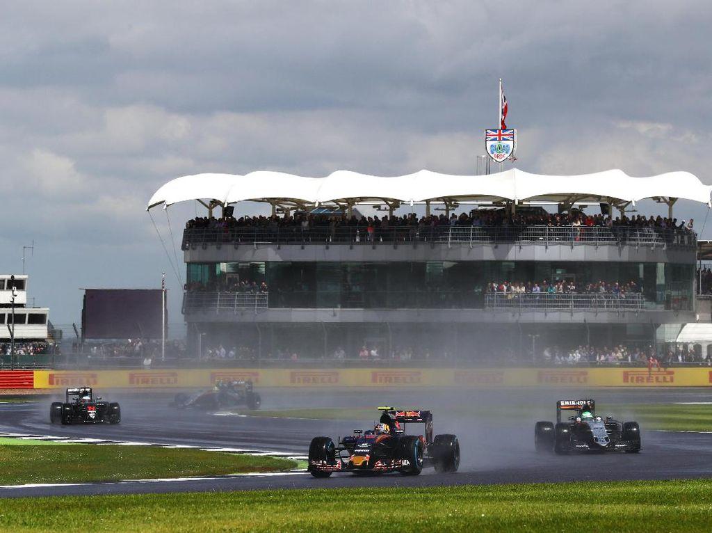Ecclestone Mau Pertahankan GP Inggris, Cari Alternatif untuk Silvestone
