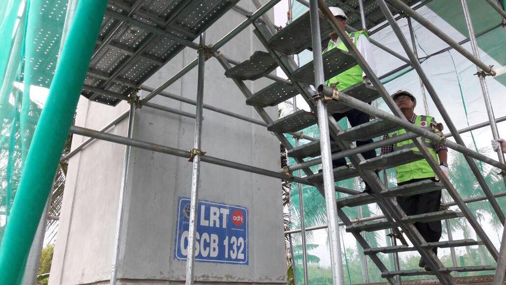 LRT Jabodebek Ditarget Selesai Maret 2019