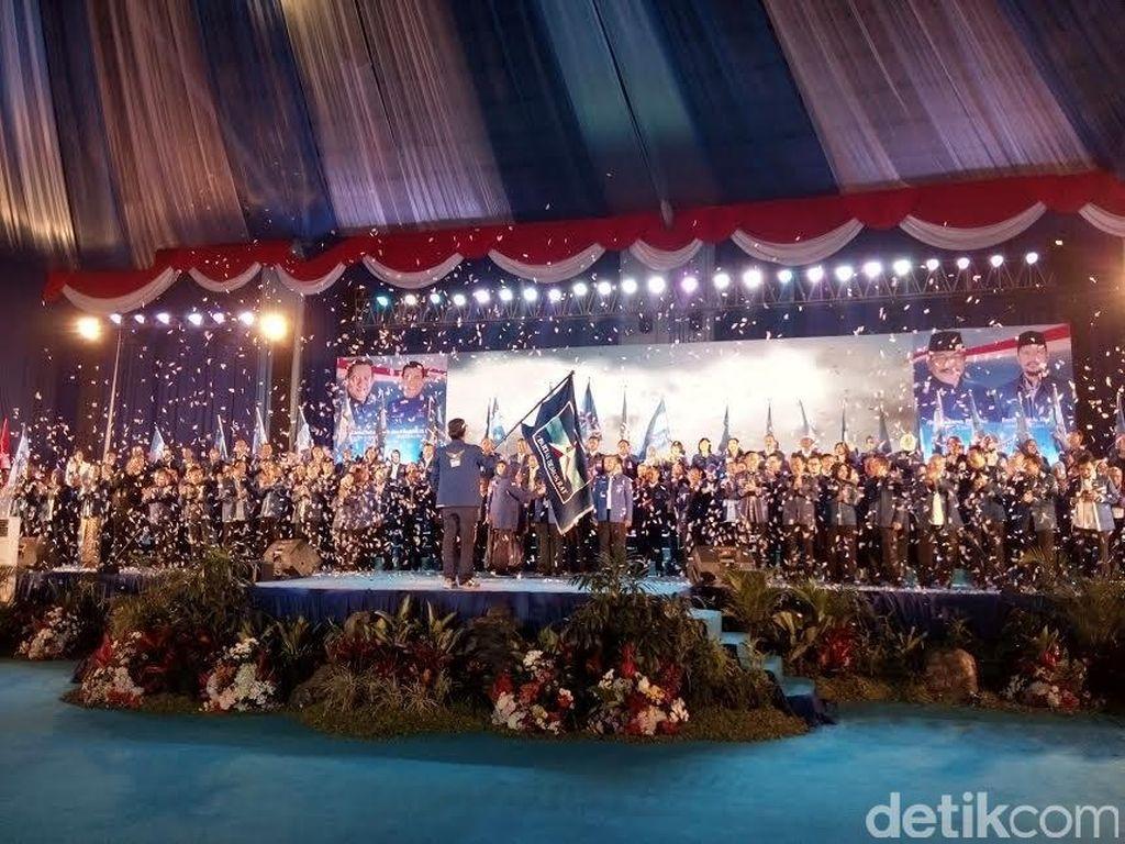 Gus Ipul ada di Prosesi Pelantikan Pengurus Demokrat Jawa Timur