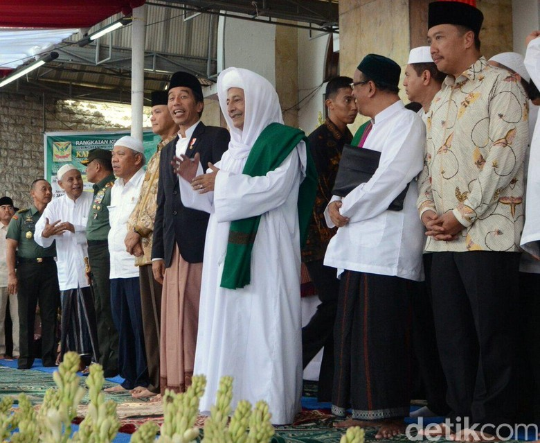 Habib Luthfi Beri Tausiah di Silaturahmi Kapolri dan Ulama Jateng
