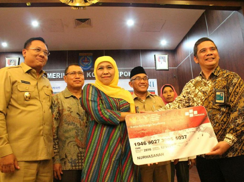 Mensos Khofifah Luncurkan e-Warong KUBE PKH
