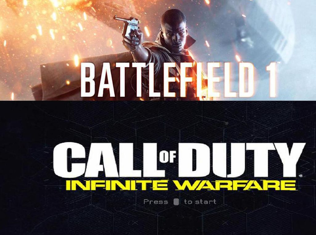 Battlefield 1 vs CoD: Infinite Warfare, Klasik nan Brutal atau Modern Era Robot