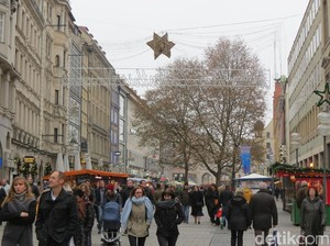 Pemandangan Asyik di Kota Tua Munich