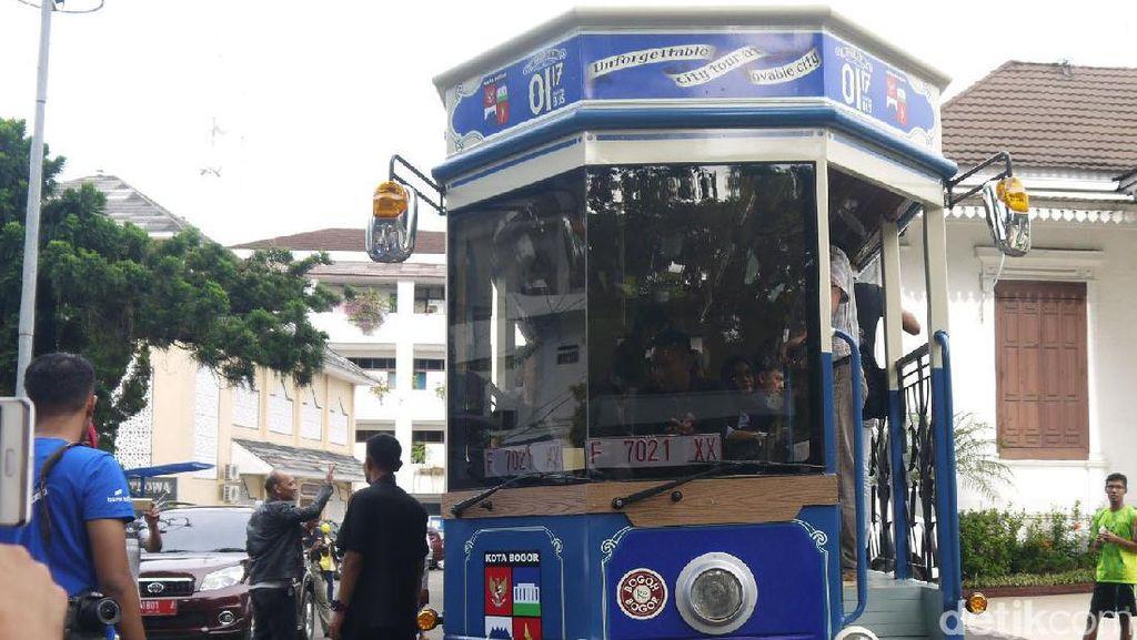 Ini Penampakan Bus Wisata Bogor yang Baru
