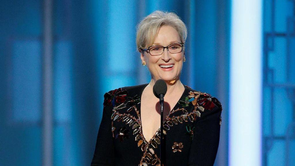 Sebut Berlebihan, Donald Trump Pernah Puji Meryl Streep