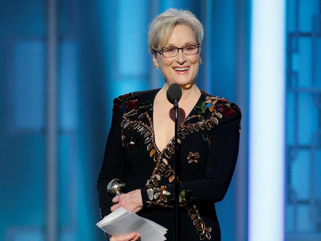 Meryl Streep Raih Lifetime Achievement dalam Golden Globe 2017