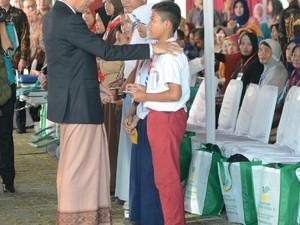 Jokowi Ingin Generasi Penerus Bangsa Bergizi Baik