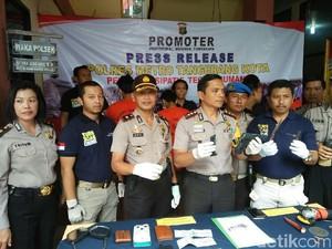 Polisi Tangkap Komplotan Curanmor Bersenjata di Tangerang