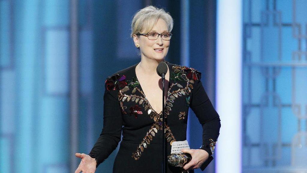 Dibalas Donald Trump, Meryl Streep Didukung Selebritis Hollywood