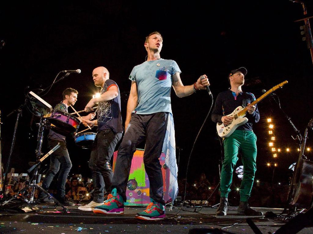 Album Baru Coldplay Terinspirasi Game of Thrones