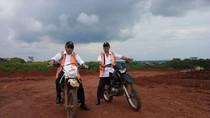 Naik Motor Trail, Menteri PUPR Tinjau Proyek Tol Batang-Semarang
