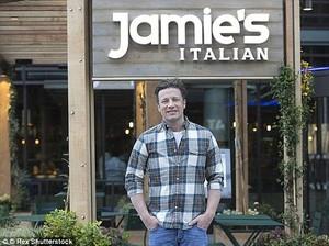 Puluhan Restoran Ditutup, Chef Jamie Oliver Ajukan Kebangkrutan