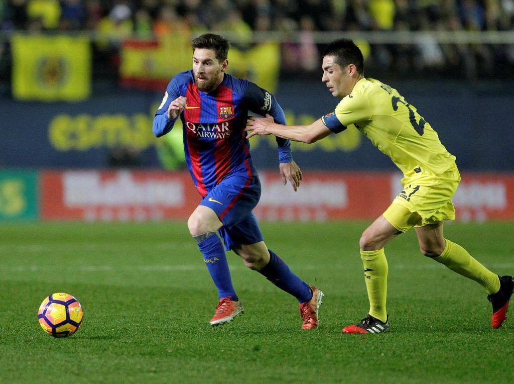 Barca Ditantang Villarreal, Kans Madrid Ambil Alih Pimpinan Klasemen