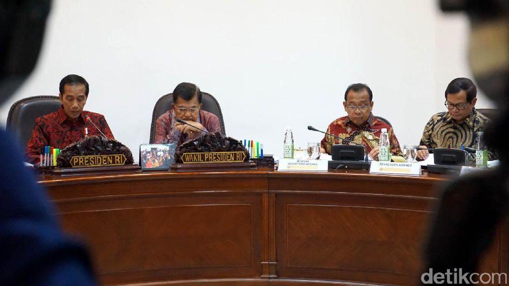 Jokowi Rapat Bahas Hilirisasi Mineral