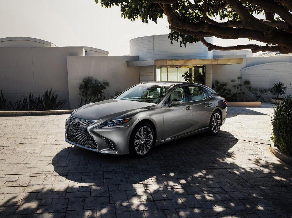Makin Mewah Lexus LS Generasi Anyar