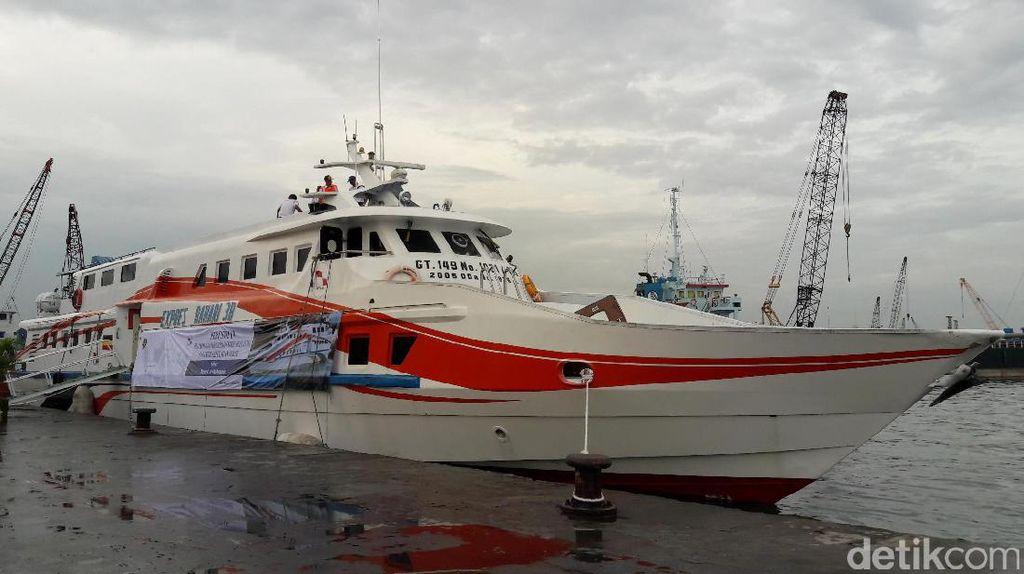 Catat! Tiket Naik KM Express Bahari 3B ke Kepulauan Seribu