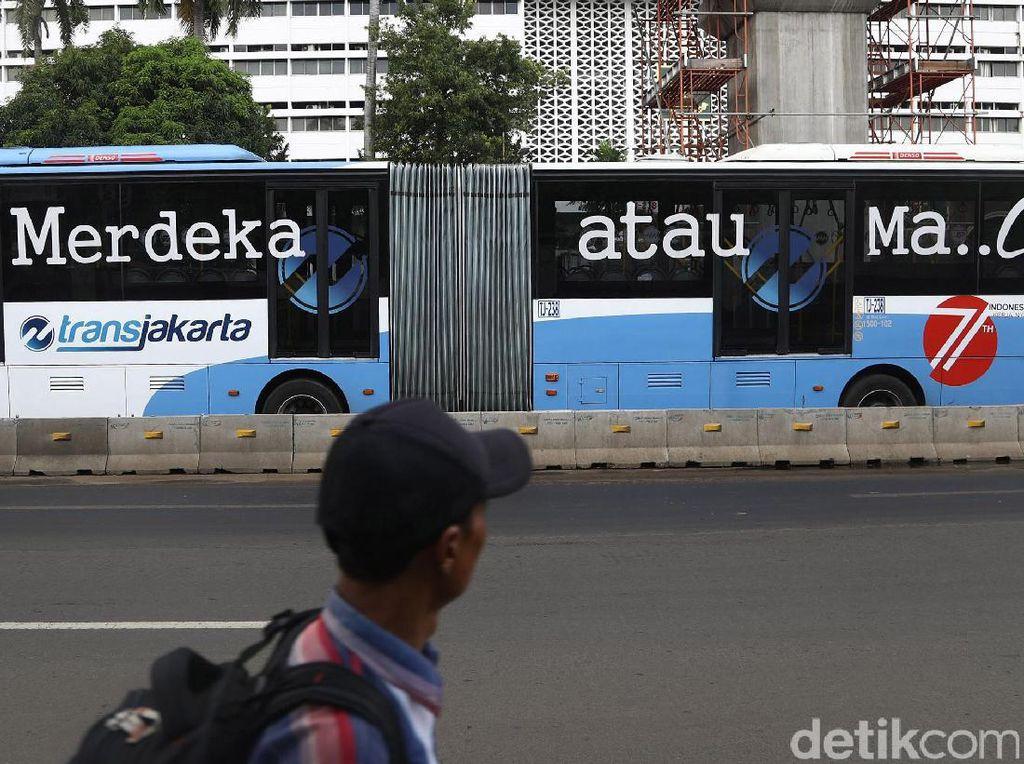 2017 TransJakarta Operasikan 3.000 Bus