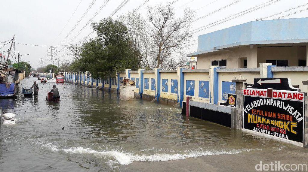 Aduh, Pelabuhan Pariwisata di Jakarta Kok Sering Kebanjiran