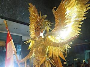 Kostum Megah Burung Garuda Akan Dipakai Puteri Indonesia di Miss Universe