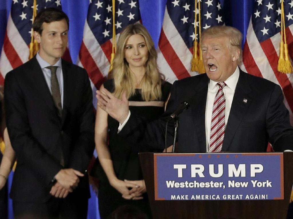 Menantu Trump Jadi Penasihat Gedung Putih dan Tidak Digaji