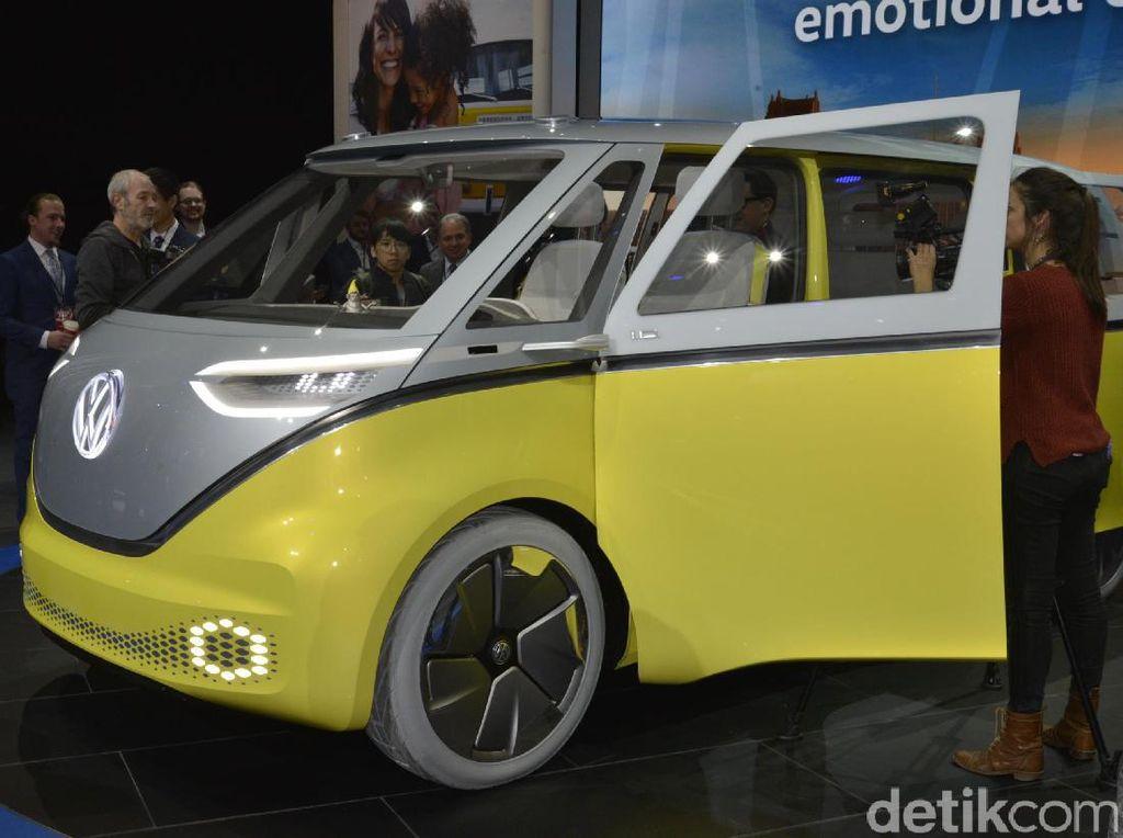 VW Kombi Hidup Lagi, Jadi Mobil Listrik