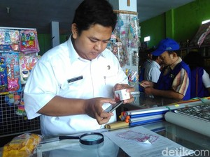 Puluhan Kosmetik Palsu Ditemukan Beredar di Pasar Blitar