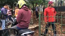 Pengendara Motor Ninja Tewas Akibat Kecelakaan di Depan Stasiun UP