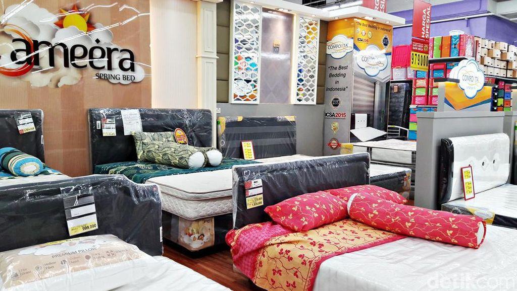 Diskon Tempat Tidur di Transmart Carrefour