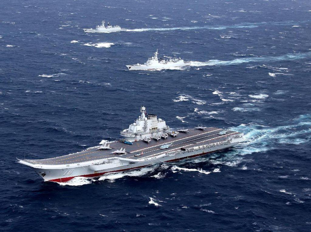 Ketegangan Meningkat, Kapal Induk China Gelar Latihan Dekat Taiwan