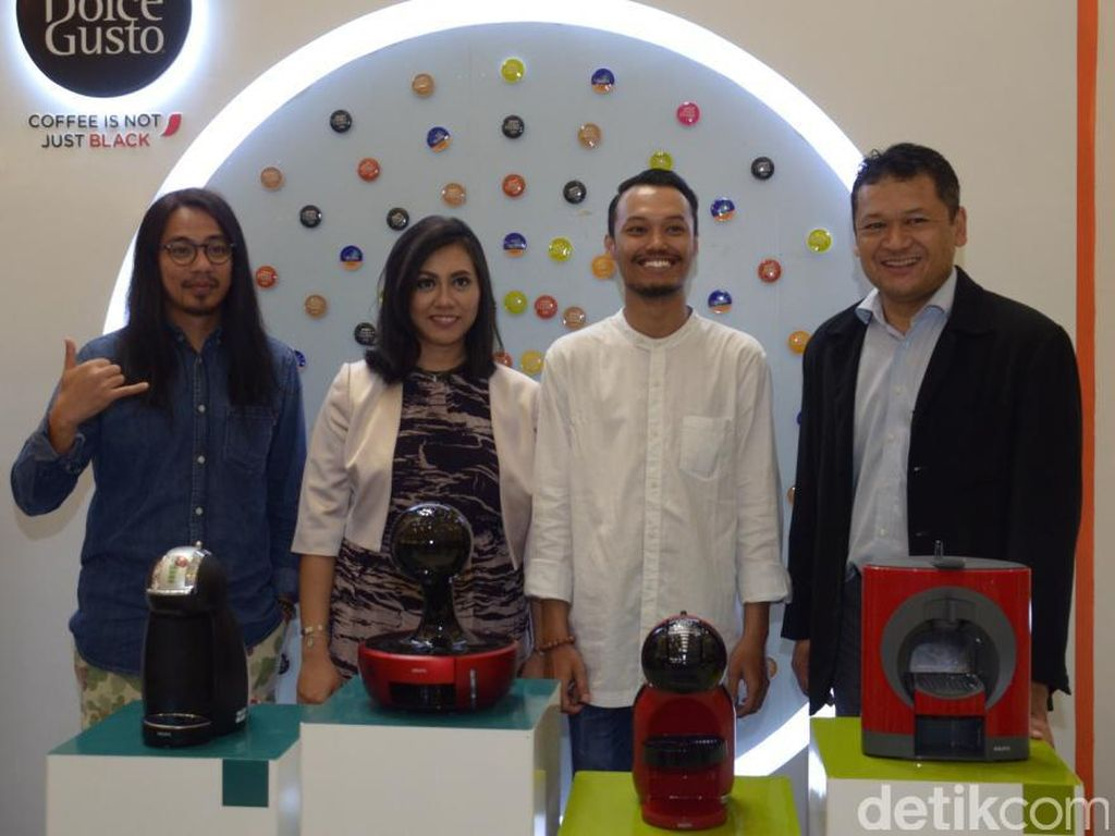 Mesin Kopi Nescafe Dolce Gusto Resmi Diperkenalkan di Surabaya