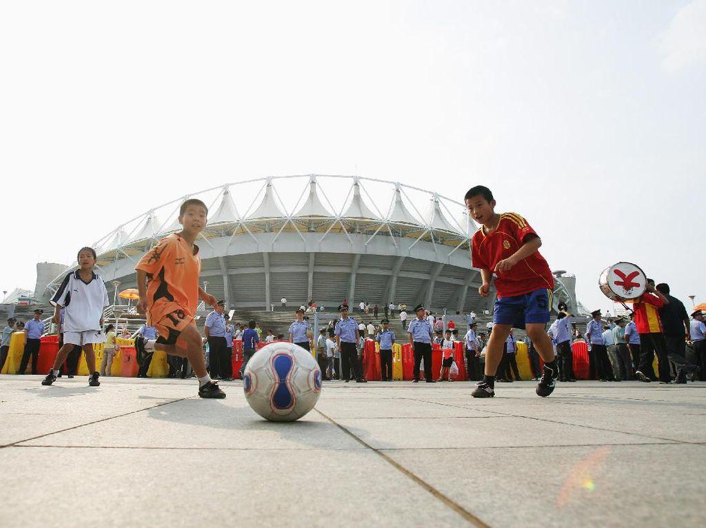 Rencana Besar China untuk Menguasai Sepakbola Dunia