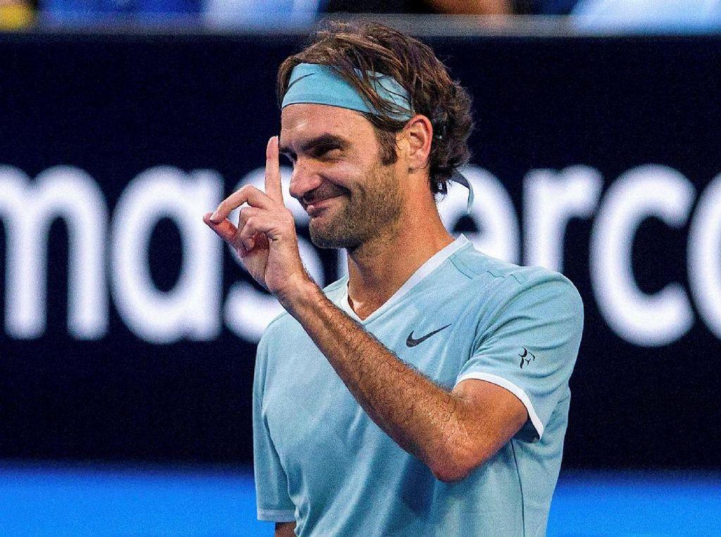 Jadi Unggulan 17 Bukan Masalah bagi Federer