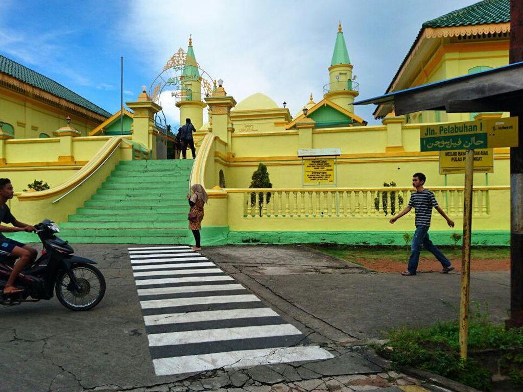 Pulau Penyengat di Kepri Ditetapkan Jadi Pulau Perdamaian Dunia