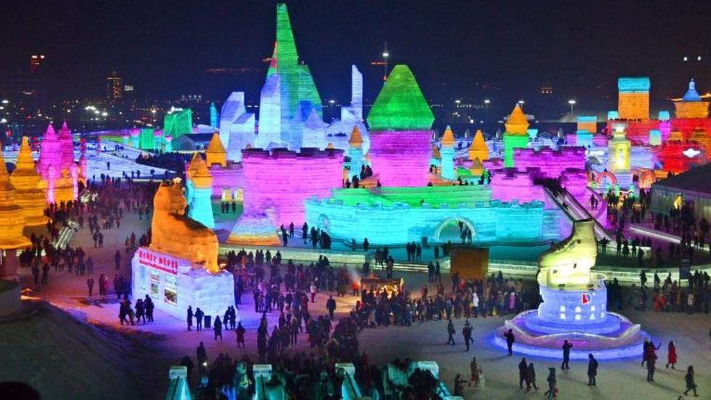 Wow! Liburan ke China Awal Tahun Ini, Bisa Lihat Kota Es